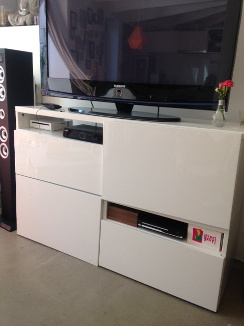 un meuble tele sur mesure a petit prix