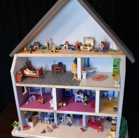 Fabriquer Une Maison De Poupe Ou De Playmobil