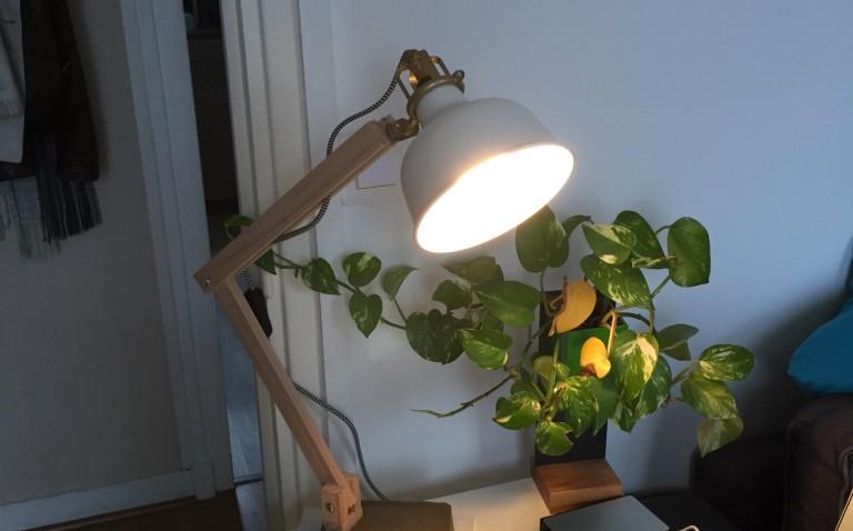 lampe industrielle bois ikea ranarp