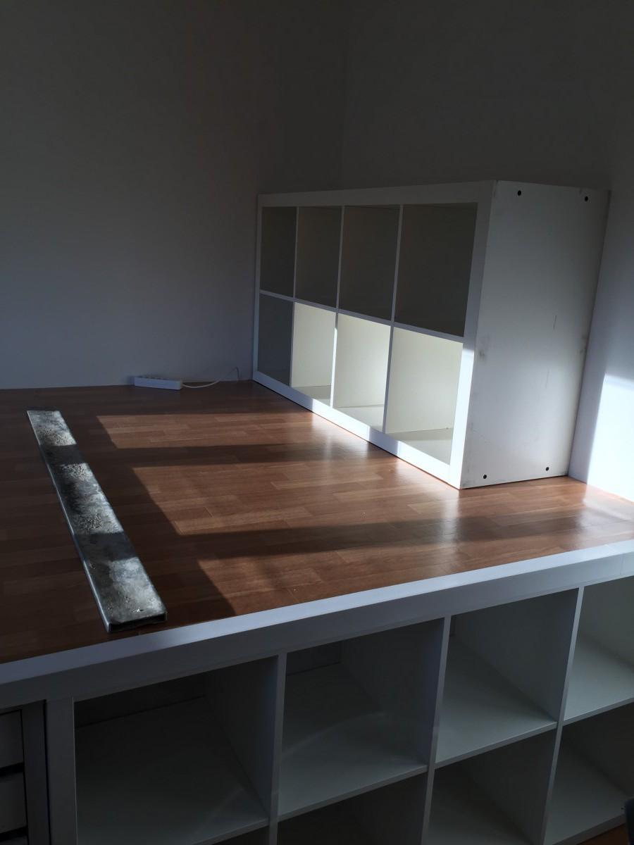 Un Incroyable Lit Estrade Pour Chambre Dado Bidouilles IKEA