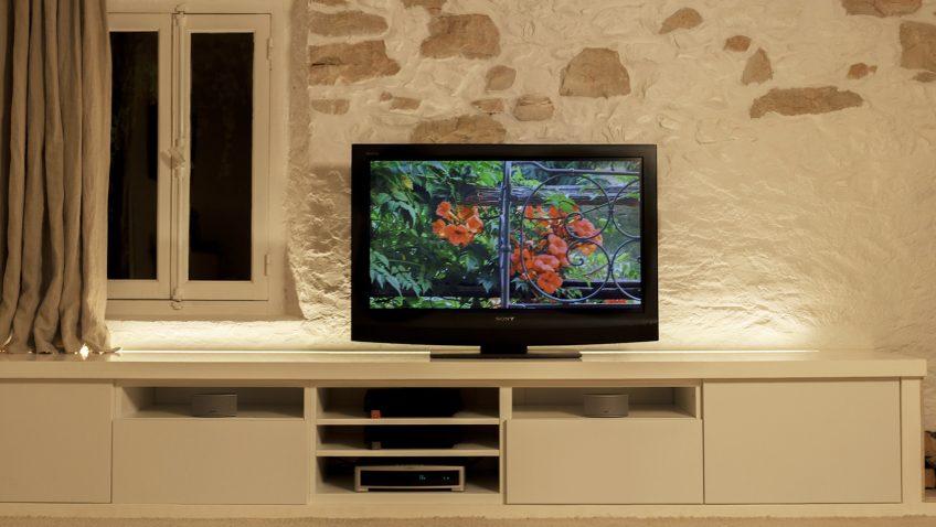 Banc Tv Ikea Besta Personnalisé Plan 3d