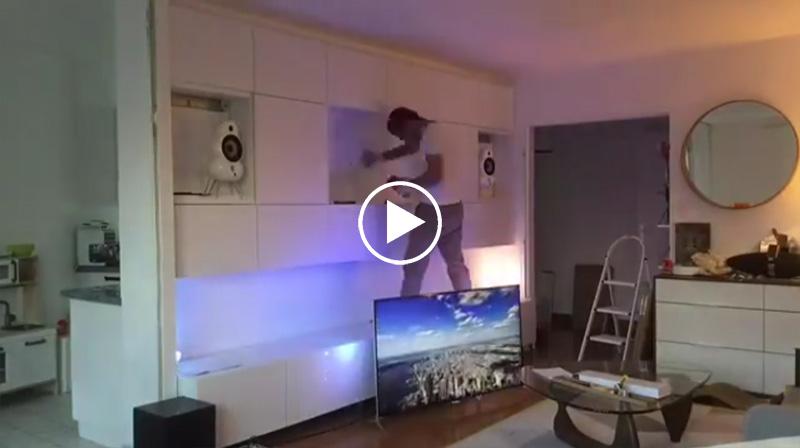 video timelapse comment creer un mur