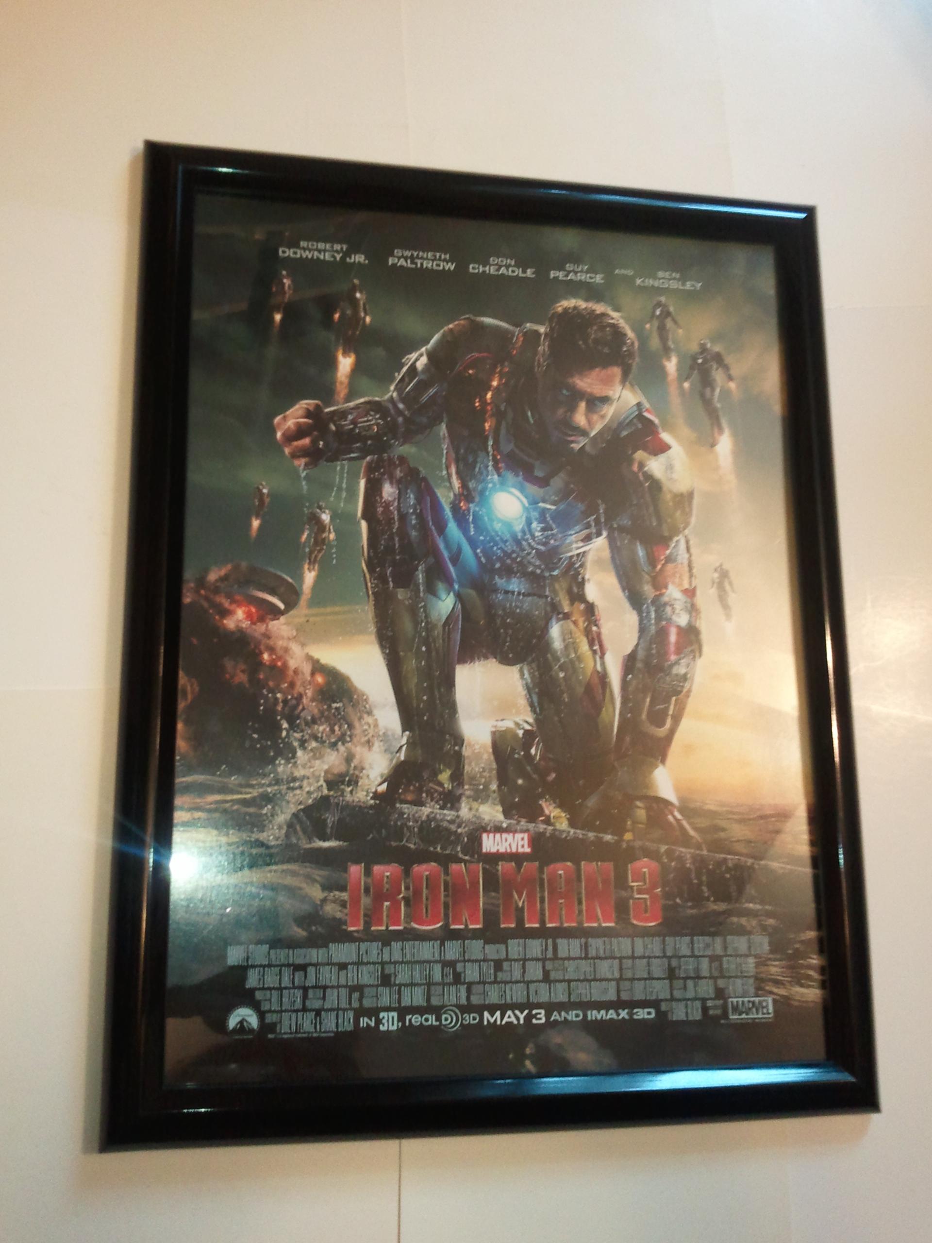 kunstplakate 24x36 iron man 3 movie