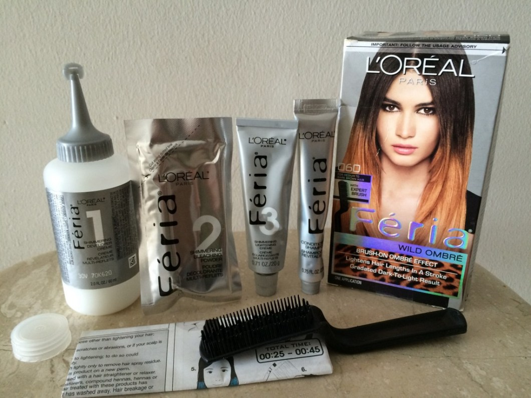 Loreal Feria Hair Color Instructions Hairstly