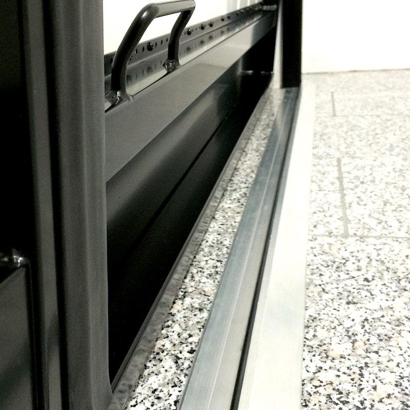 Seuil De Porte De Garage Aluminium Deportedd