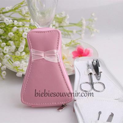 souvenir pernikahan gown manicure set