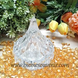 Waterdrop Crystal Jar