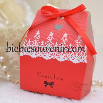 souvenir candybox kotak permen merah