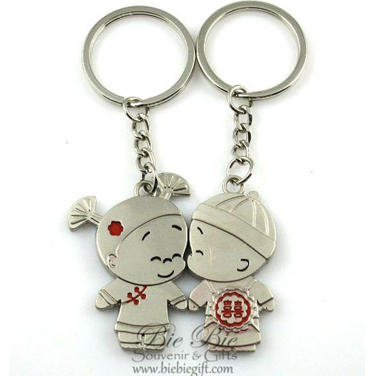 souvenir pernikahan gantungan kunci ck1