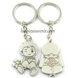 Souvenir Pernikahan Gantungan Kunci Couple CK68