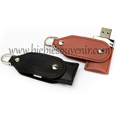 USB Swivel Leather