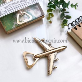 jetplane bottle opener rustic