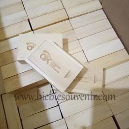 souvenir usb kayu wooden ojk