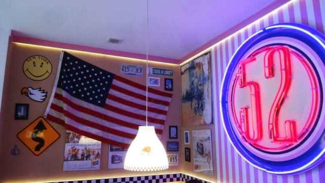 wnętrze 52 City Diner