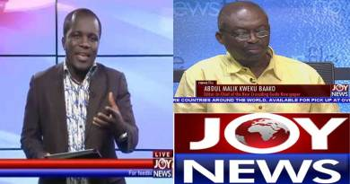 joy news tv live streaming Evans Mensah.
