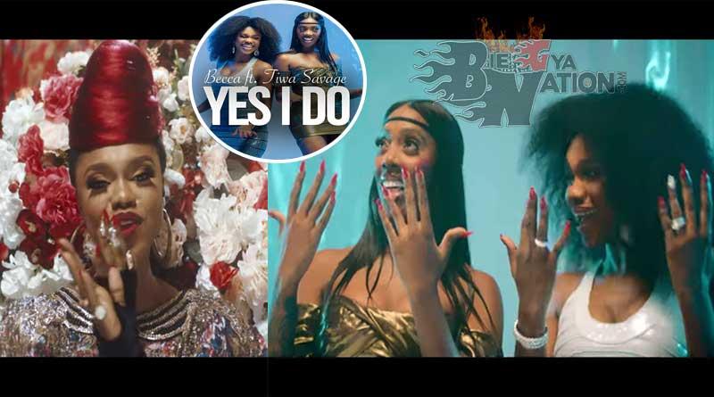 Becca ft Tiwa Savage Yes I Do Music Video, produced by Mix Masta Garzy.