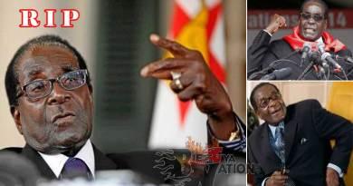 Robert Mugabe, Zimbabwean president dies at age 95.