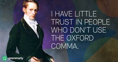What is Oxford Comma.