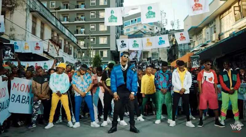 Diamond Platnumz Baba LaoMusic Video directed by Kenny.