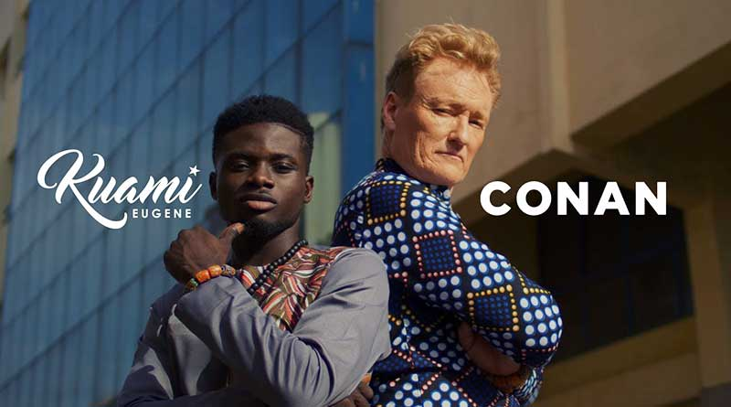 Kuami Eugene ft Conan O'Brien For Love Video directed by Rex.