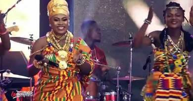 Joyce Blessing Aye Ma Running Over Video at DOXAZO 2019.