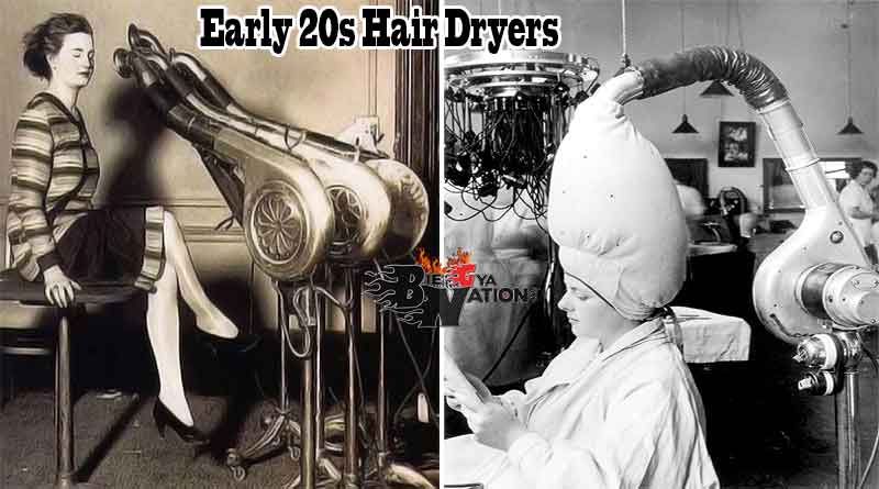 Craziest old hair dryers photos in history, who invented the hair dryer.