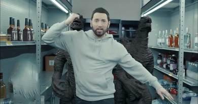 Eminem ft Juice WRLD Godzilla Music Video directed by Cole Bennett.