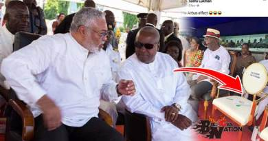 Why JJ Rawlings n John Mahama were absent from 63rd Independence day celebrations in Kumasi.