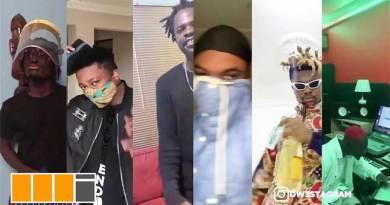 Mr Drew n Krymi ft Quamina MP Kofi Mole Dope Nation Bosom PYung n Fameye Dw3 Remix Video produced by Kaywa.