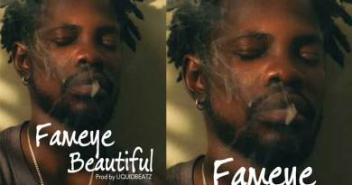 Fameye Beautiful Music Video directed by Junie Annan song produced by LiquidBeatz.