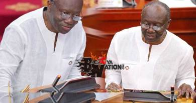 2020 Mid Year Budget Review presented by finance minister Ken Ofori Atta