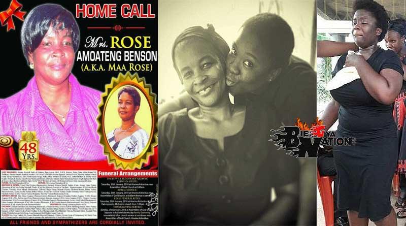 Maame Serwaa parents mother mum Maa Rose Benson