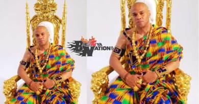 Jay Ghartey Kweku Music Video directed by Gyo Phamous Philms, kente