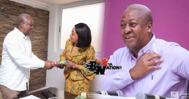 John Mahama files nomination to contest 2020 presidential elections