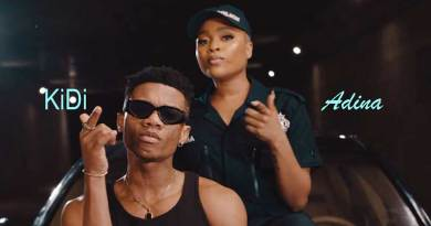 Kidi ft Adina One Man Music Video directed by Rex, song produced by Richie Mensah