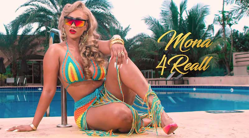 Mona 4Reall Badder Than Music Video directed by Rex Ghana, song produced by MOG Beatz.
