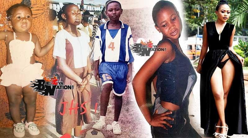 Akuapem Poloo jhs shs childhood photos
