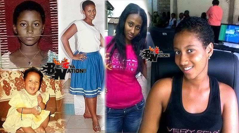 Hajia4real Mona Montrage childhood shs school old photos