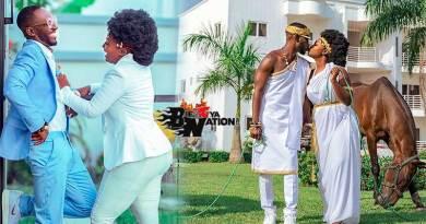 Okyeame Kwame and Annica Nsiah Apau