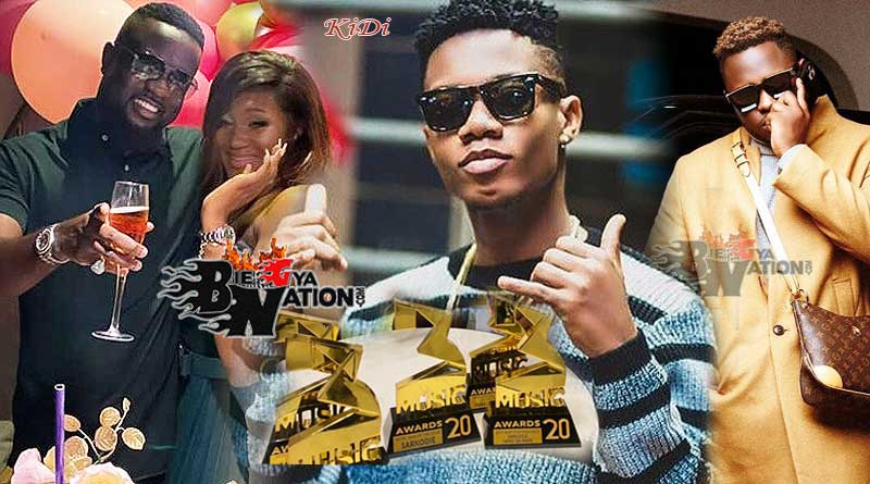 3Music Awards 2021 full list of winners Kidi wins Artiste of The Year; Sarkodie, Medikal, Stonebwoy