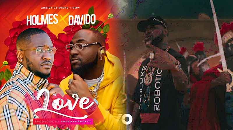 Holmes ft Davido Love Music Video directed by Legacy Films,
