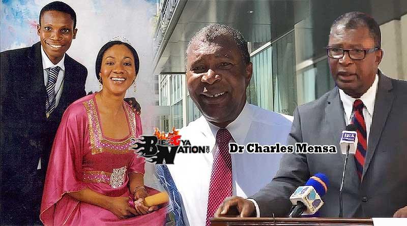 Jean Mensa husband Dr Charles Mensa age and their children.