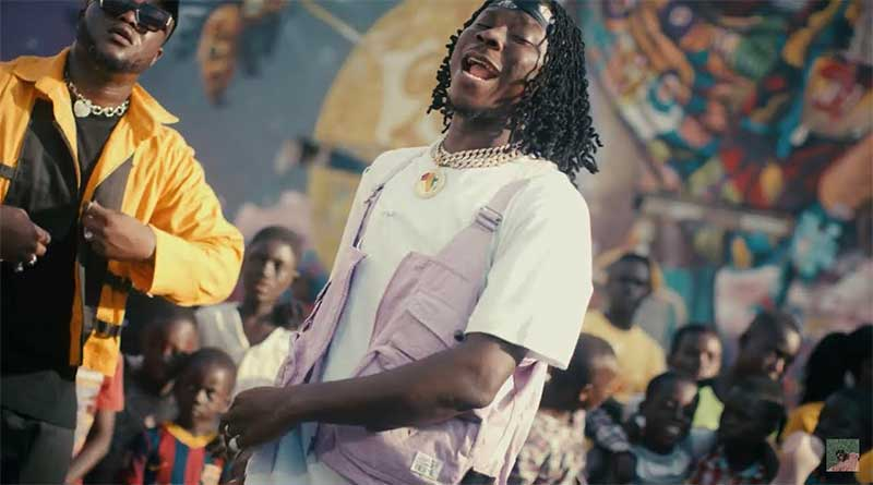 Mike Akox ft Stonebwoy Super Mario Music Video directed by Rex, song produced by BCole.