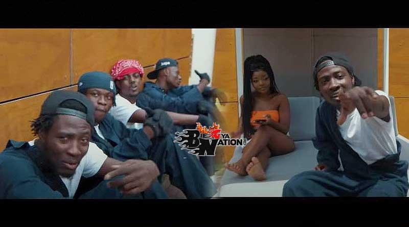 OKenneth ft Reggie City Boy Agyeiwaa Music Video directed by Yaw Phanta.