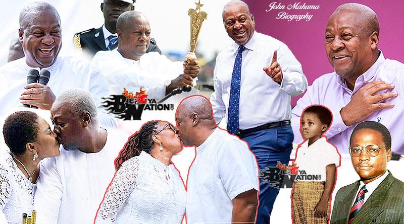 John Dramani Mahama Full Biography age, wife Lordina, children, education, awards, school, Mzbel, Tracey Boakye.