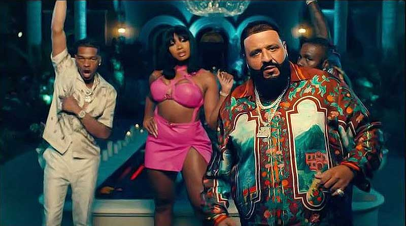 DJ Khaled ft Post Malone Megan Thee Stallion Lil Baby DaBaby I Did It Music Video directed by David Myers.