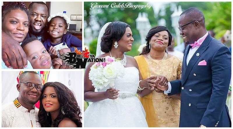 Giovani Caleb marriage with wife Belinda Boadu and children, kids.
