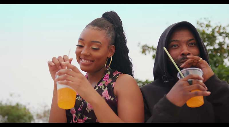 Nanky featuring King Promise performing Cassette Official Music Video directed by Yaw Skyface.