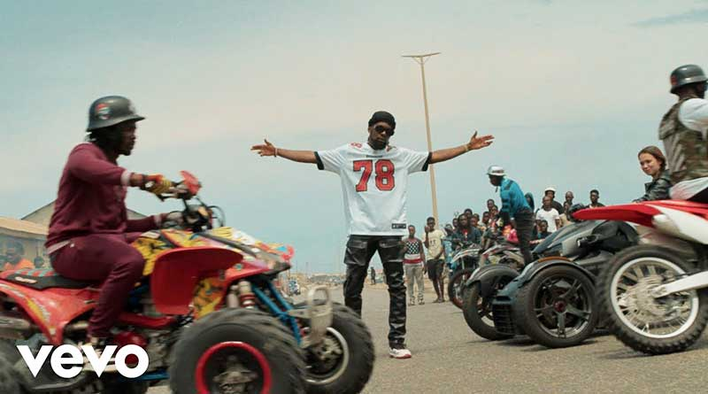 Patoranking performing Celebrate Me Official Music Video directed by Dammy Twitch, song produced by Yung Willis.