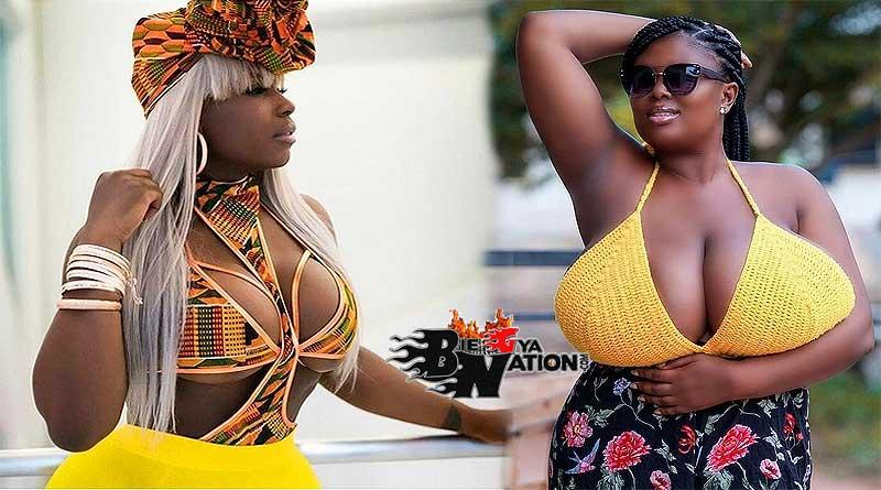Ghanaian women love to breast-feed their babies.